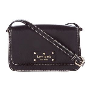 Never Worn Kate Spade Crossbody Black Leather Bag